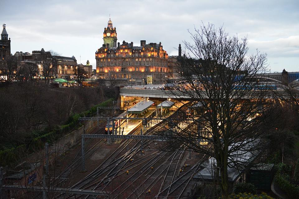 Treinstation Edinburgh