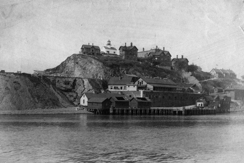 Alcatraz in 1895