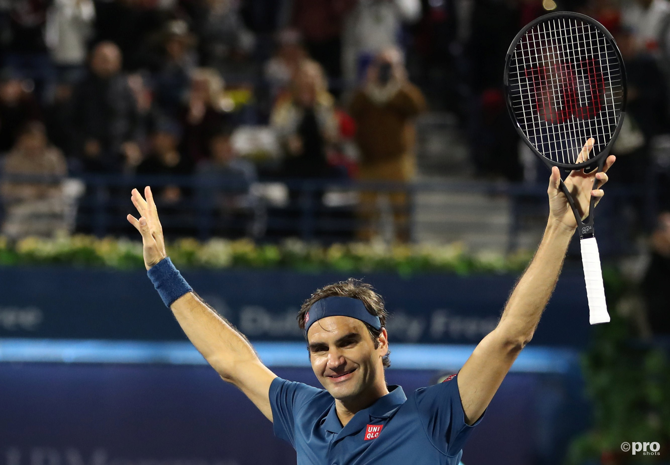 100ste toernooizege voor Federer na toernooiwinst in Dubai (Pro Shots / Action Images )