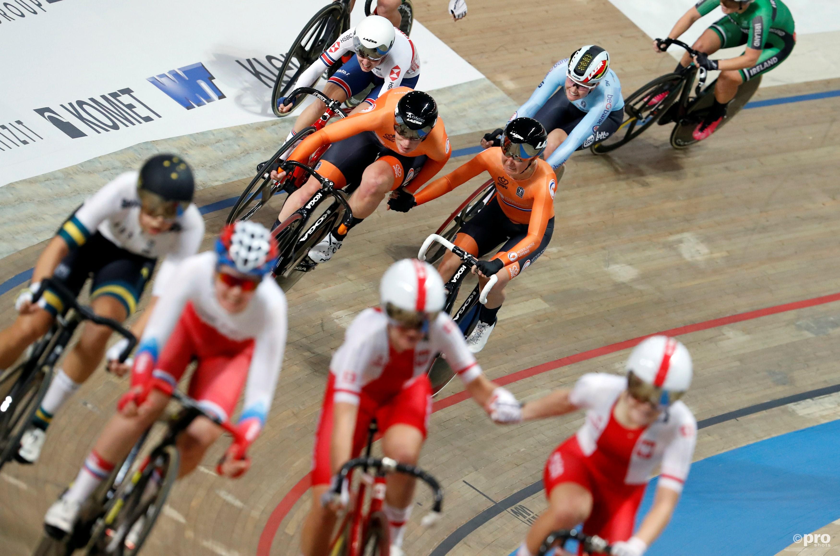 Opnieuw WK goud voor Oranje op WK baanwielrennen: Pieters en Wild winnen koppelkoers (Pro Shots / Action Images)
