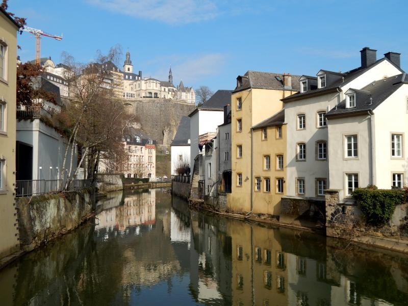Luxemburg-Stad, anderhalve week geleden.  (Foto: bazbo)