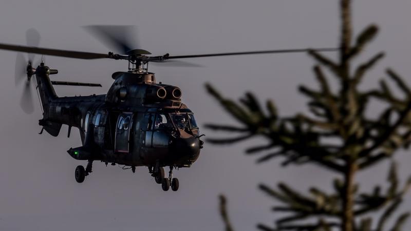 Luchtmacht houdt helikoptertraining in Noord-Engeland (Foto: Defensie)