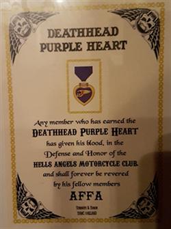 Het deadheart Purple Heart