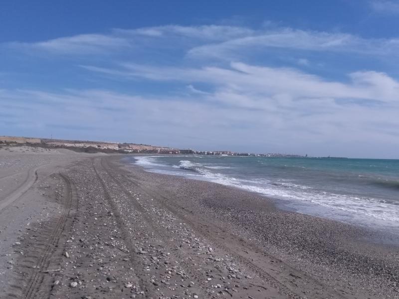 Strand bij Almerimar (Foto: Kroezel)