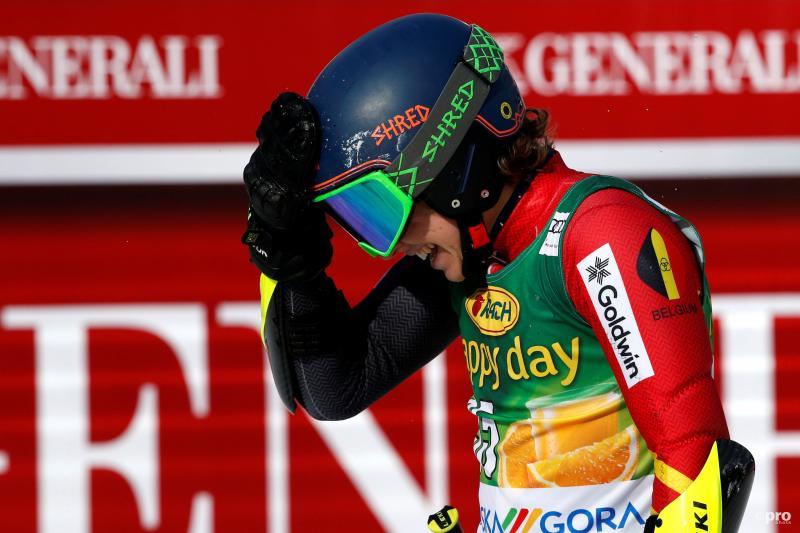 Maes kan het nog niet helemaal geloven na zijn race (Pro Shots / Action Images)