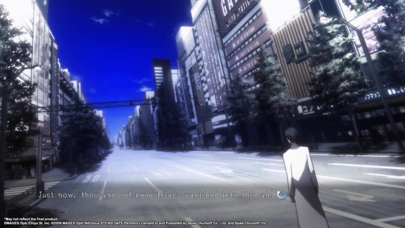 Steins;Gate Elite - Empty Street (Foto: Koch Media)