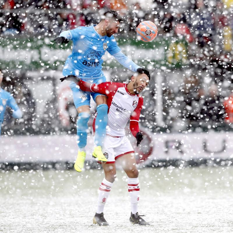 Sneeuw bij Emmen-Heracles (Foto: Pro Shots/ Henk Jan Dijks)
