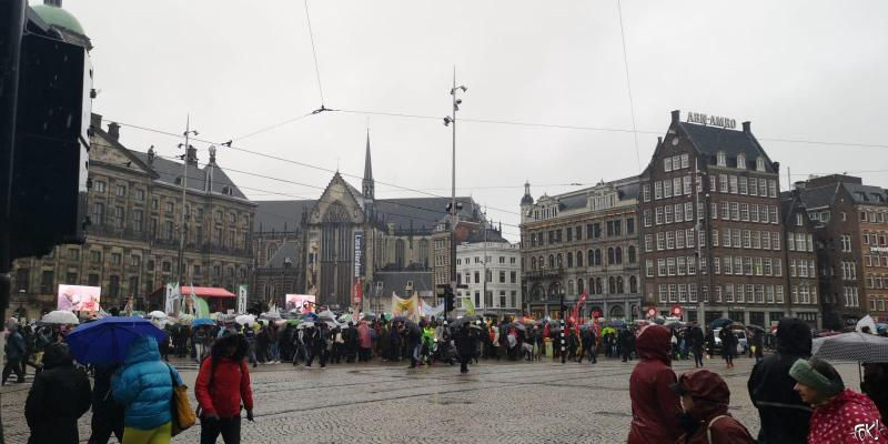 klimaatmars Amsterdam 2019 (Foto: FOK!)