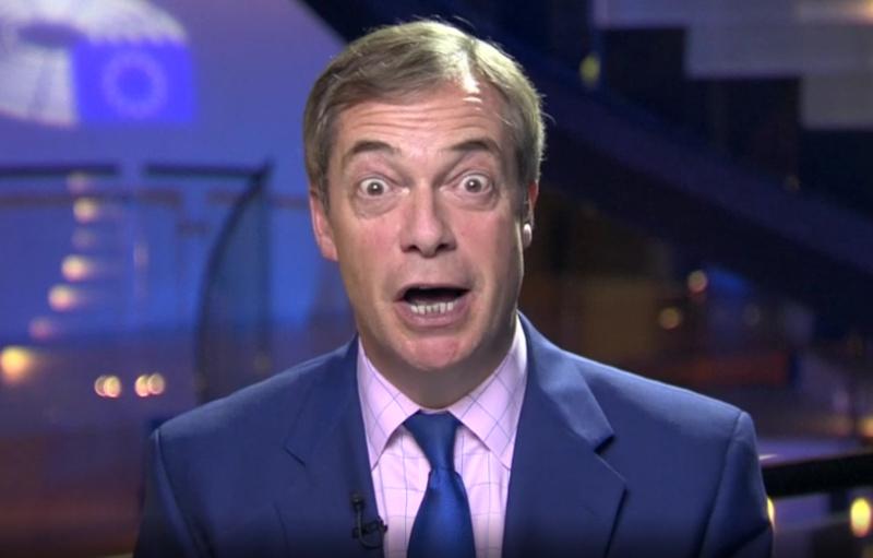 Farage probeert veto Brexit-uitstel los te peuteren