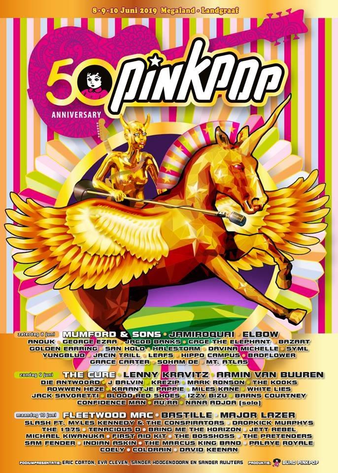 Pinkpop 2019: de poster
