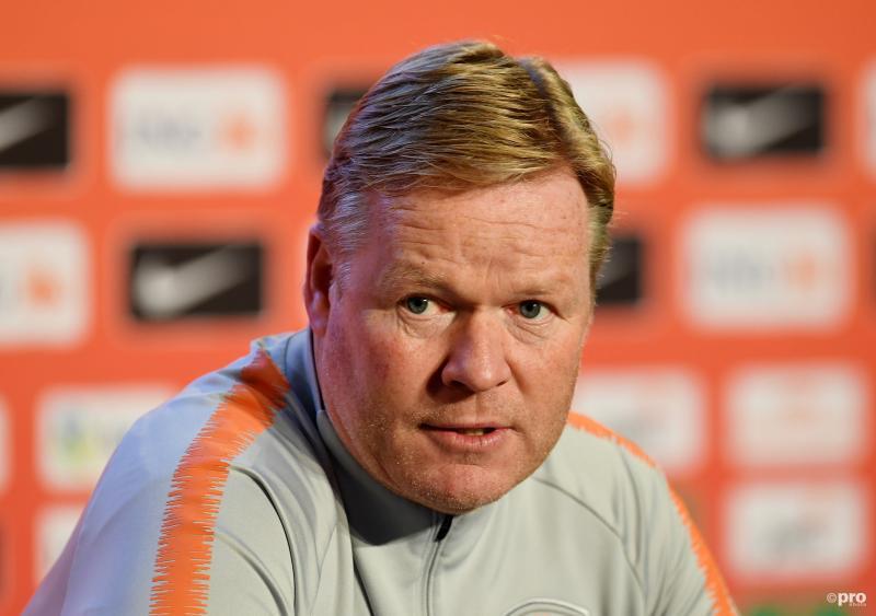 Koeman maakt Oranje-selectie bekend voor EK-kwalificatieduels (Pro Shots / Action Images)