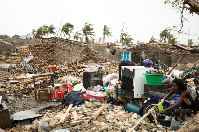 Idai veroorzaakt humanitaire ramp in Mozambique  (Foto: IFRC/Rode Kruis )