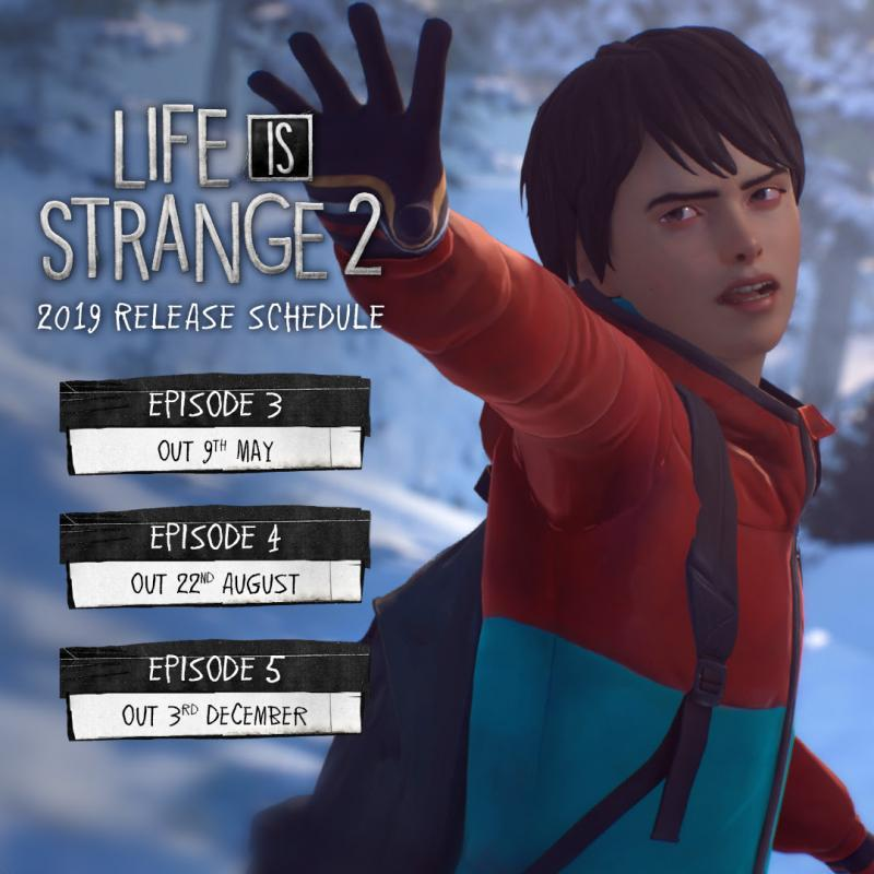 Life is Strange 2 - Content plan 2019 (Foto: Square Enix)