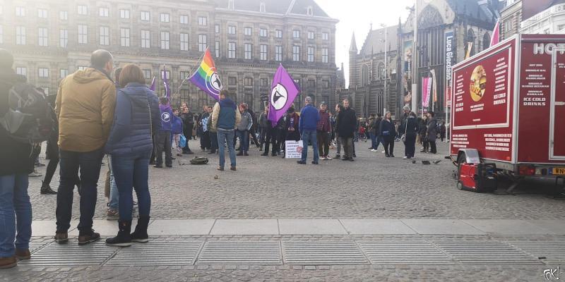 ACTA op De Dam (Foto: FOK!)