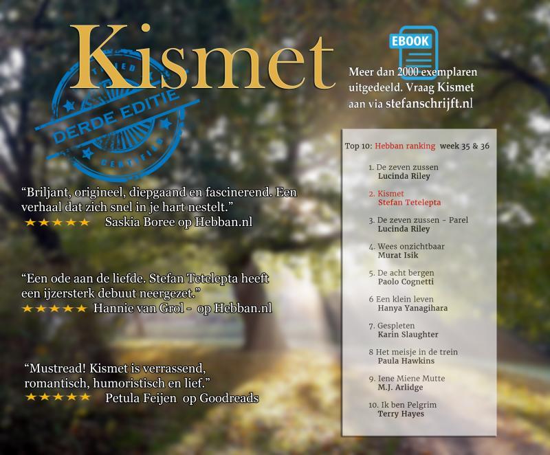 Kismet op Hebban (Foto: Stefan Tetelepta )