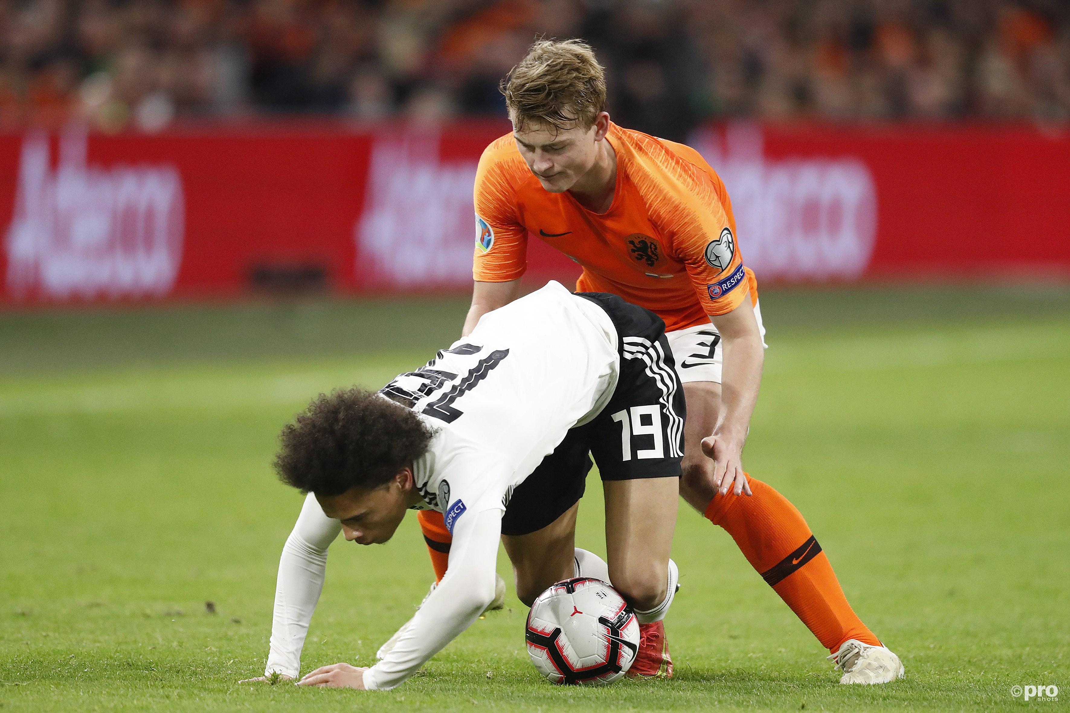 Dapper Oranje verliest van Duitsland na dramatische slotfase (Pro Shots / Stanley Gontha)