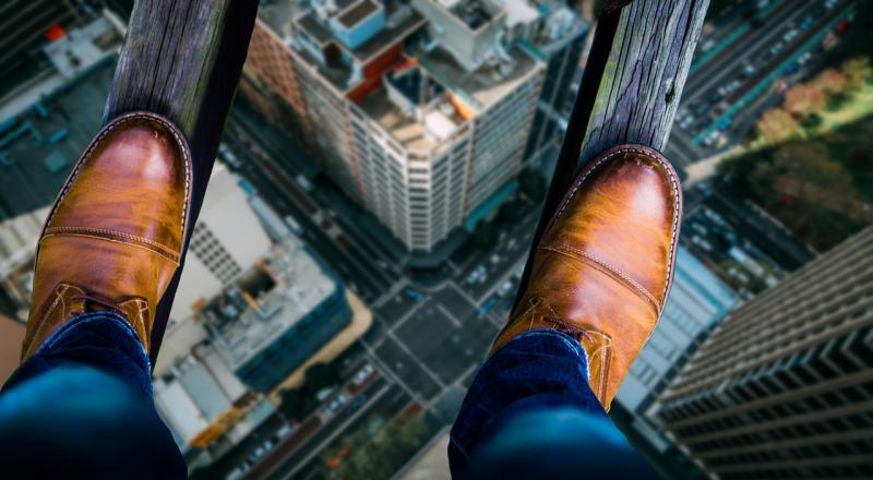Goedkoop van je hoogtevrees af met VR (Foto ter illustratie: Pixabay)