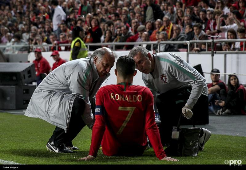 """Ronaldo maakt zich geen zorgen: """"Tegen Ajax ben ik er weer bij"""" (Pro Shots / SIPA USA)"""