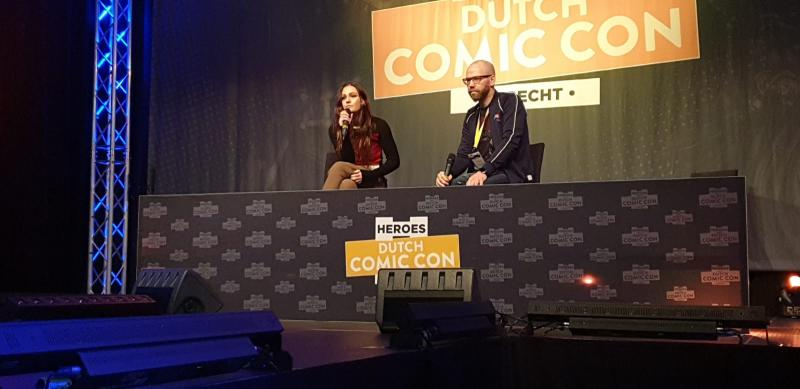 Dutch Comic Con 2019: Sophie Skelton tijdens haar panel