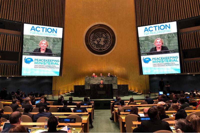 Bijleveld: VN-vredesoperaties van binnenuit verbeteren (Foto: Defensie)