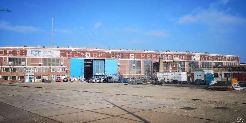 De NDSM-werf in Amsterdam (Foto: FOK!)