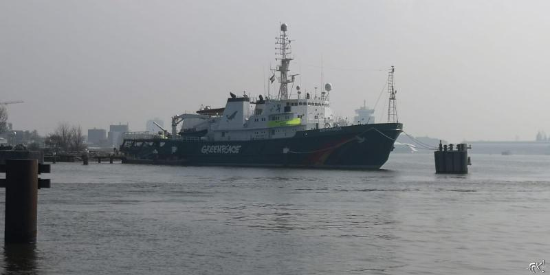 Dit schip heeft de Franse geheime dienst nog niet onder handen genomen... (Foto: FOK!)