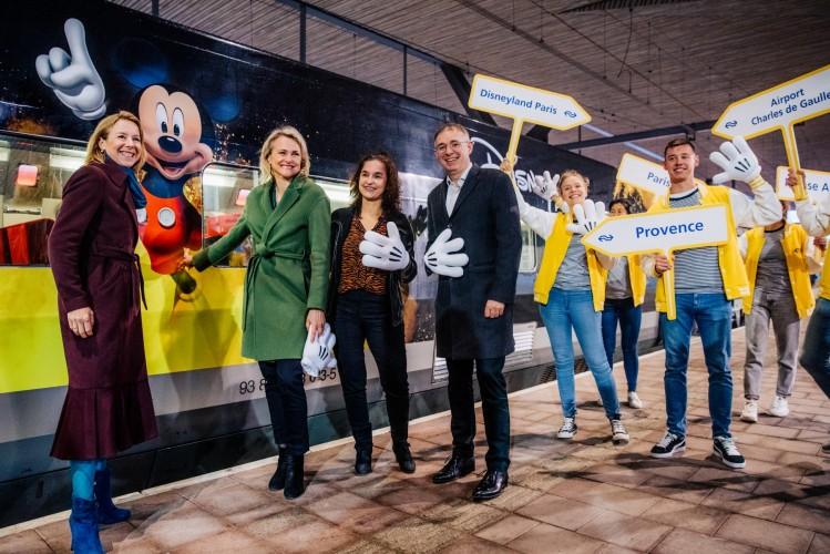 Met de Thalys naar Eurodisney (Foto: Nederlandse Spoorwegen)