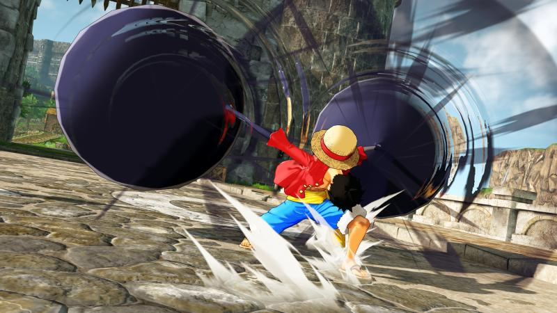 One Piece: World Seeker - Luffy Elephant attack (Foto: Bandai Namco)