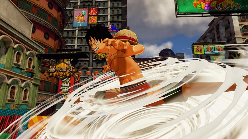 One Piece: World Seeker - Luffy Tornado (Foto: Bandai Namco)