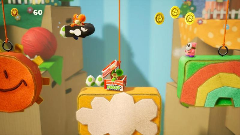 Yoshi's Crafted World - Bullet Bill (Foto: Nintendo)