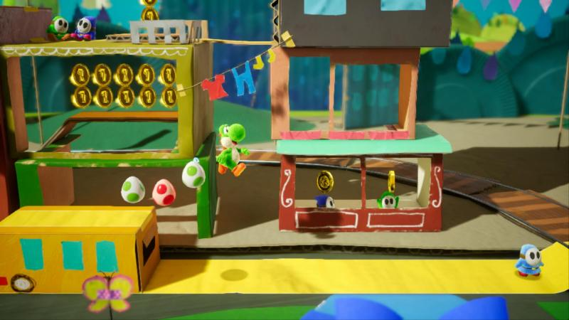 Yoshi's Crafted World - Level (Foto: Nintendo)