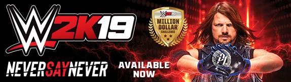 WWE 2K19 - AJ Styles Challenge (Foto: 2K Games)