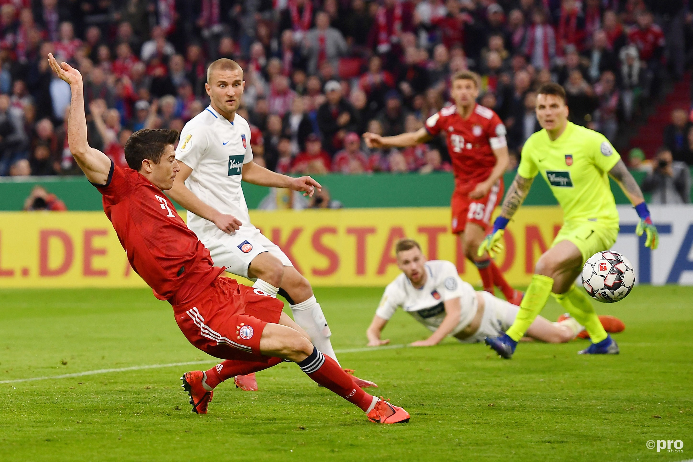 Bayern door in de DFB Pokal. (PRO SHOTS/Witters)