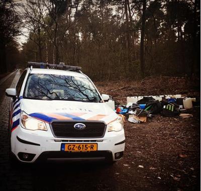 Politie zoekt getuigen dumpen drugsafval (Foto: Politie)
