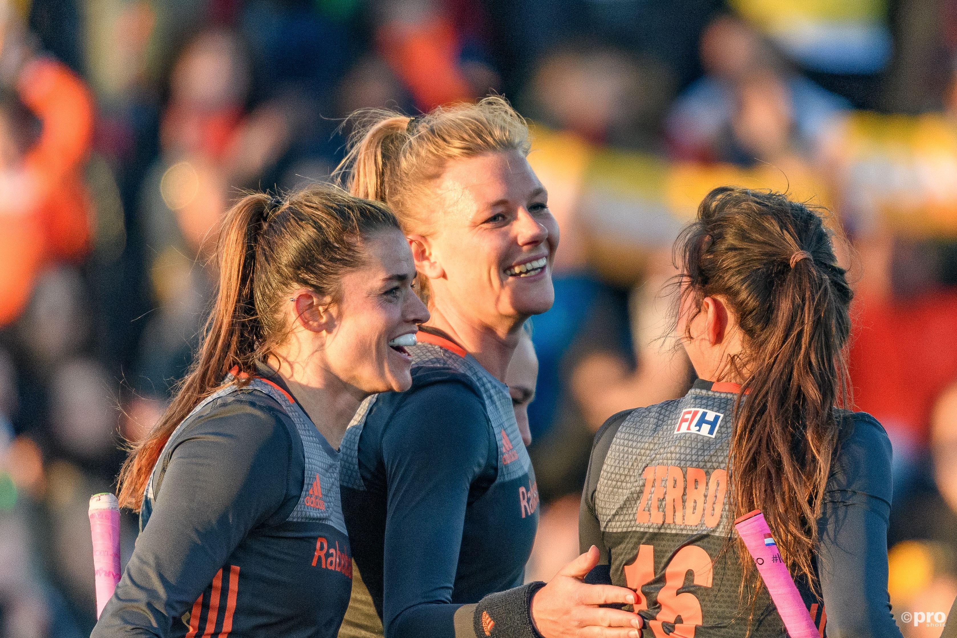 Caia van Maasakker scoorde drie keer. (PRO SHOTS/Bert Scheulderman)
