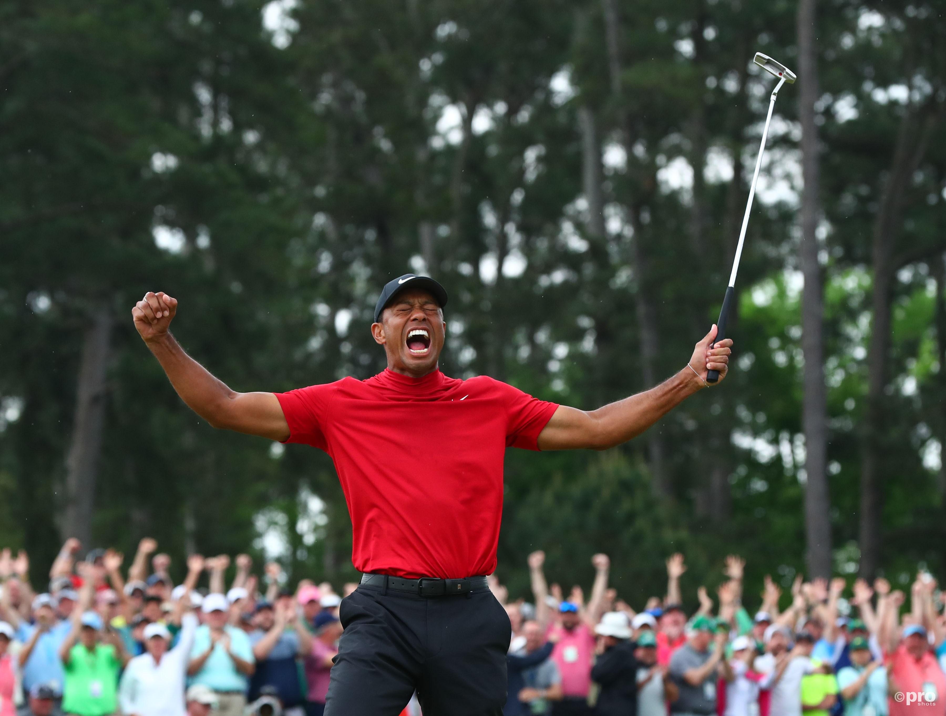 Woods wint zijn vijfde Masters (Pro Shots / SIPA USA)