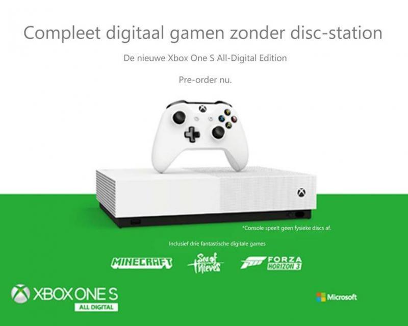 Xbox One S All Digital (Foto: Microsoft)