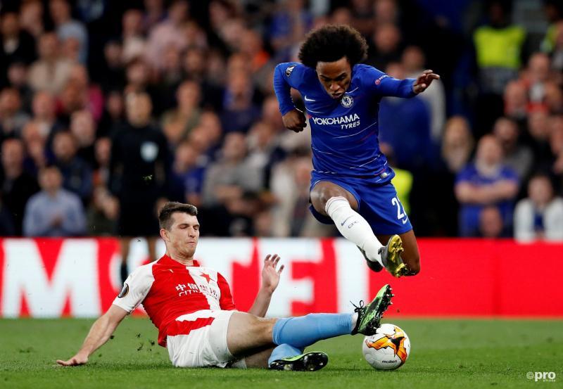 Chelsea bereikt laatste vier na spektakelstuk met zeven doelpunten (Pro Shots / Action Images)