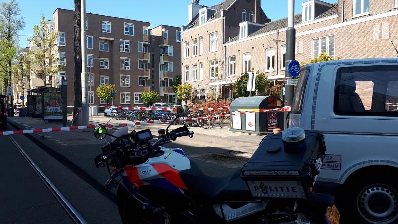 Handgranaat Amsterdam (Foto: Politie.nl)