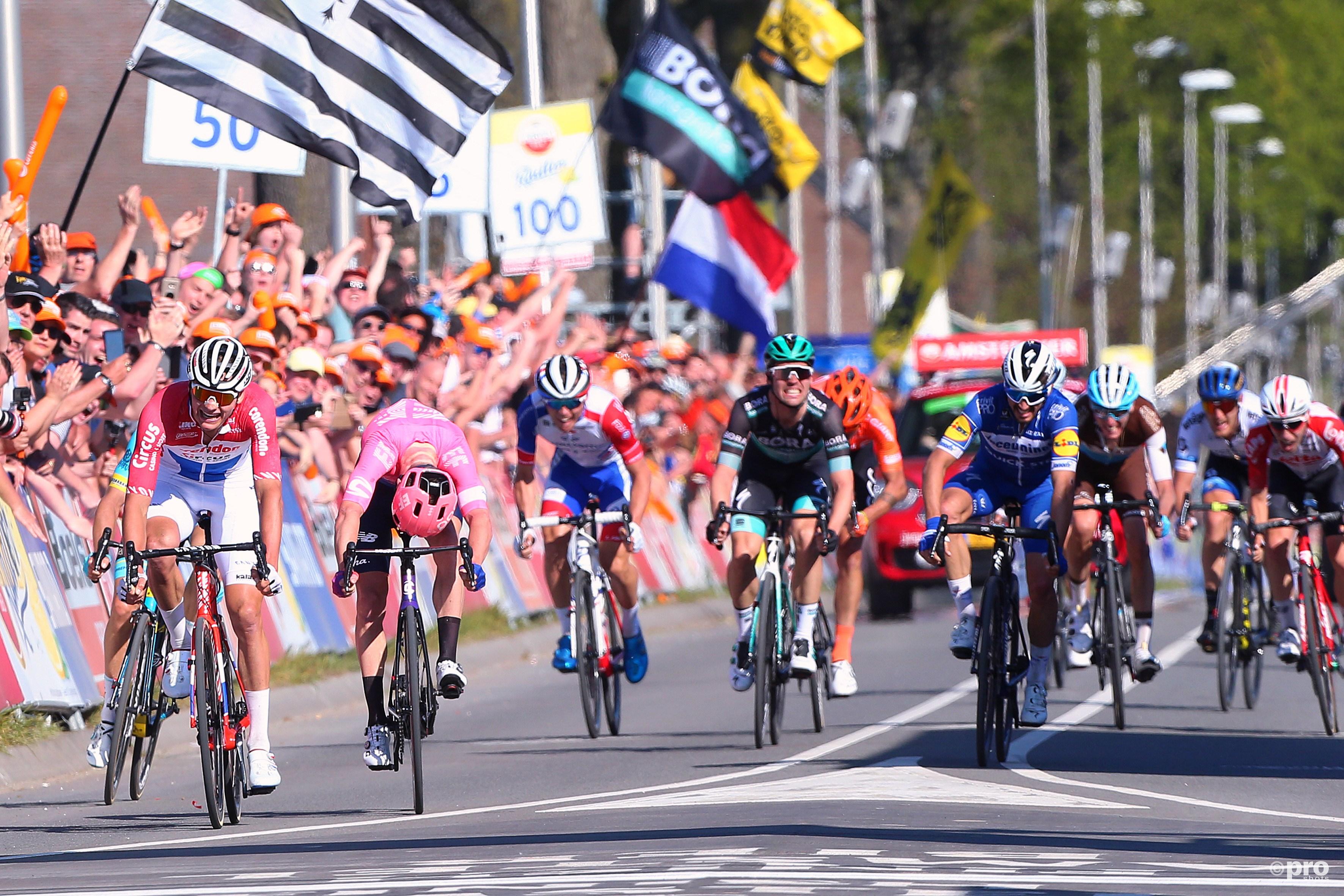 Van der Poel wint op sensationele wijze Amstel Gold Race (Pro Shots / George Deswijzen)