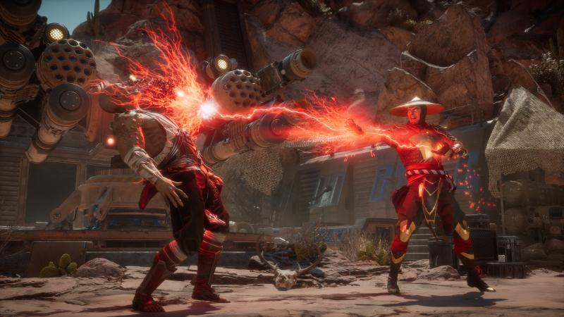 Mortal Kombat 11 - Baraka vs Raiden (Foto: Warner Bros Interactive)