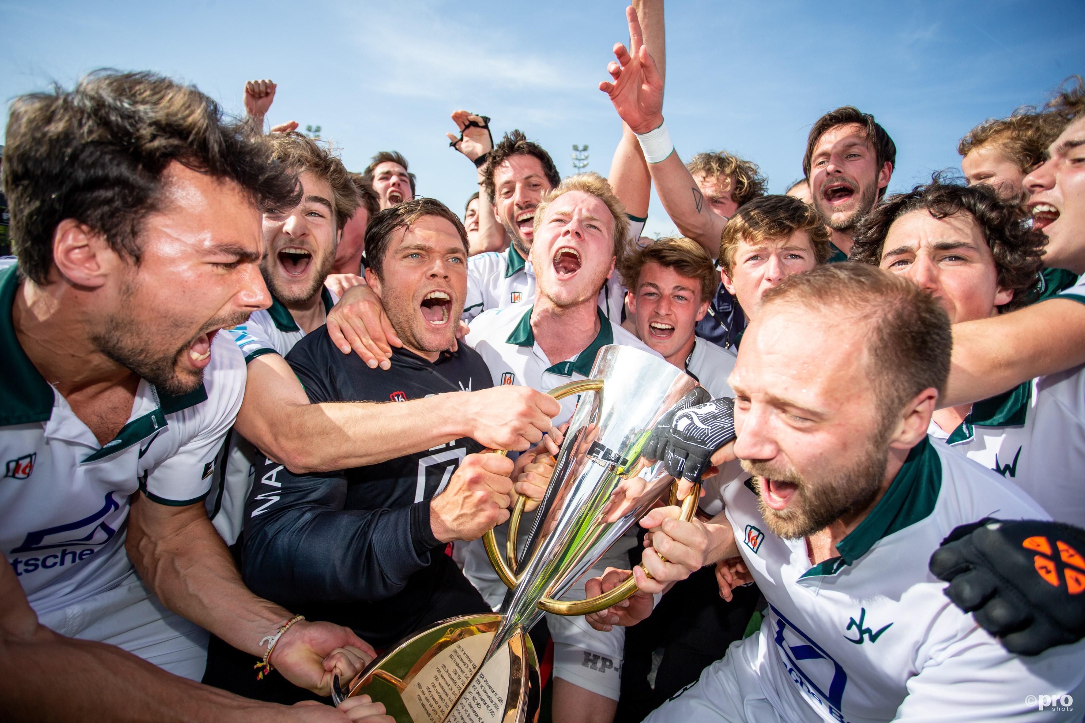 Waterloo Ducks winnen als eerste Belgische ploeg de EHL. (PRO SHOTS/Peter van Gogh)
