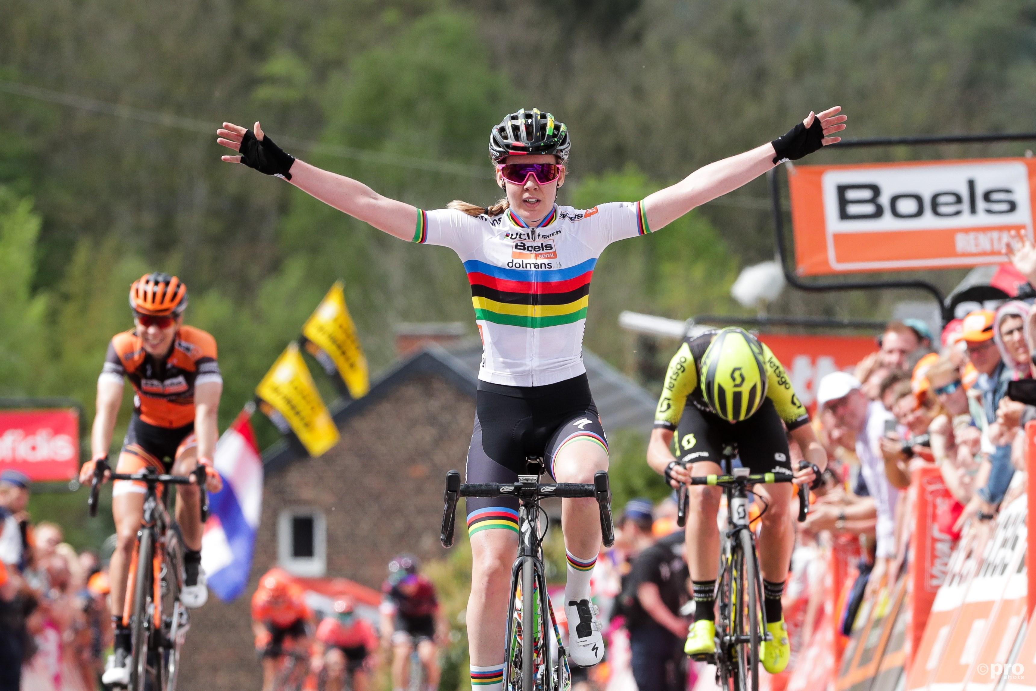 Van der Breggen opnieuw de beste op Muur van Hoei (Pro Shots / George Deswijzen)