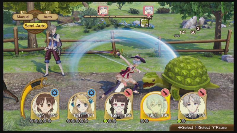 Nelke & the Legendary Alchemists - Combat (Foto: Koei Tecmo)
