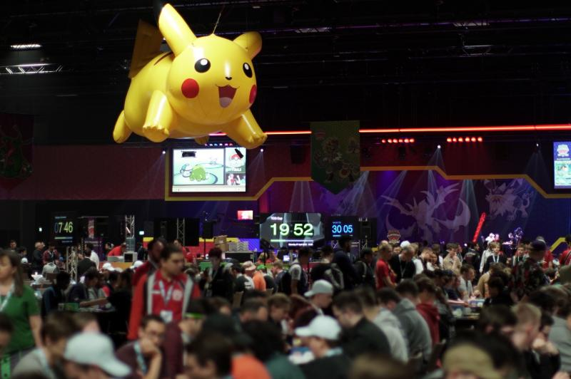 Pokemon Europe International Championships - Hall (Foto: Pokemon Company)