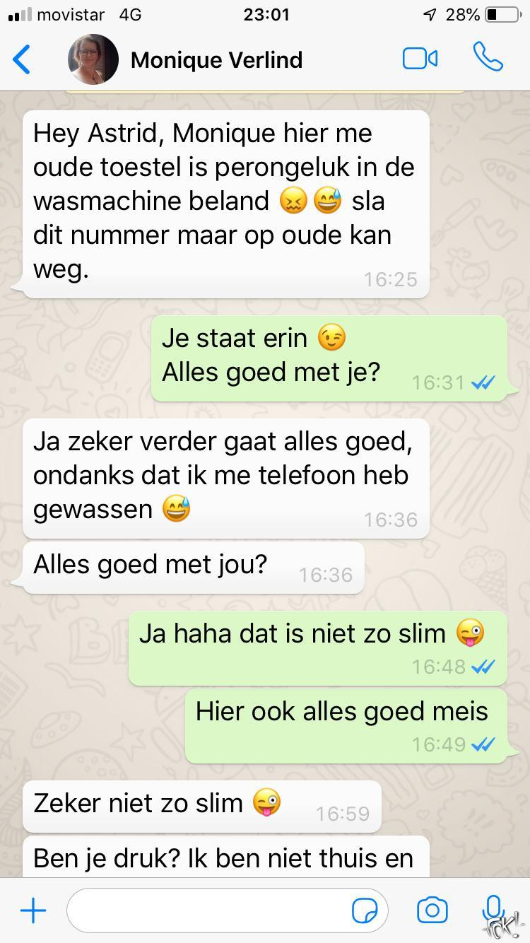WhatsApp-fraude: trap er niet in!  (Foto: DJMO )