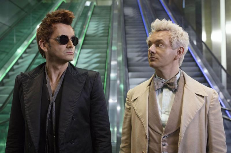 Good Omens: David Tennant en Michael Sheen