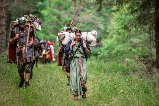 Vrouwen in de hoofdrol tijdens Romeinenweek