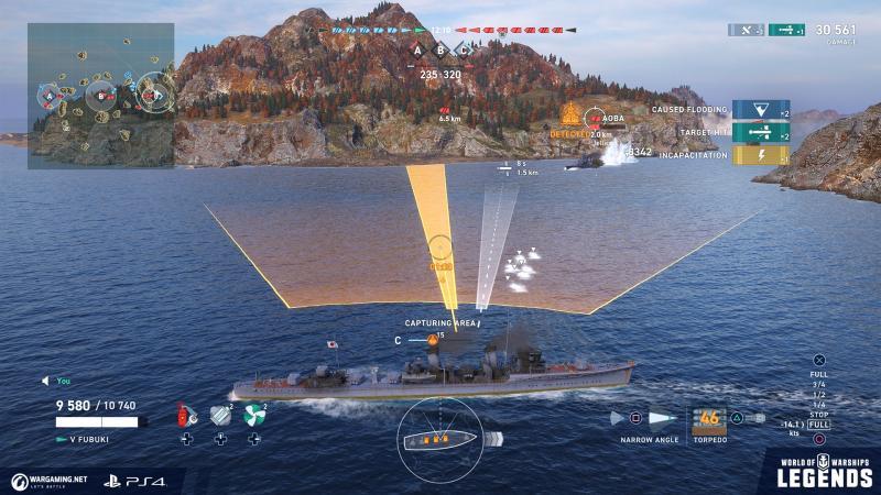 World of Warships: Legends - Gameplay (Foto: Wargaming)