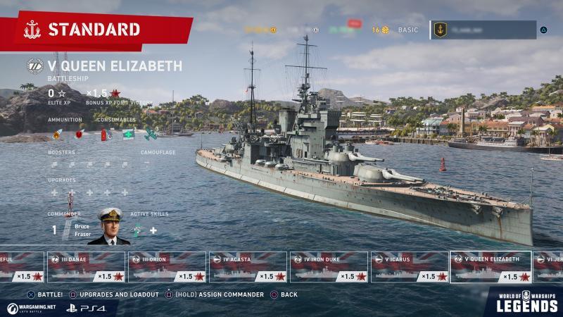 World of Warships: Legends - Harbour (Foto: Wargaming)